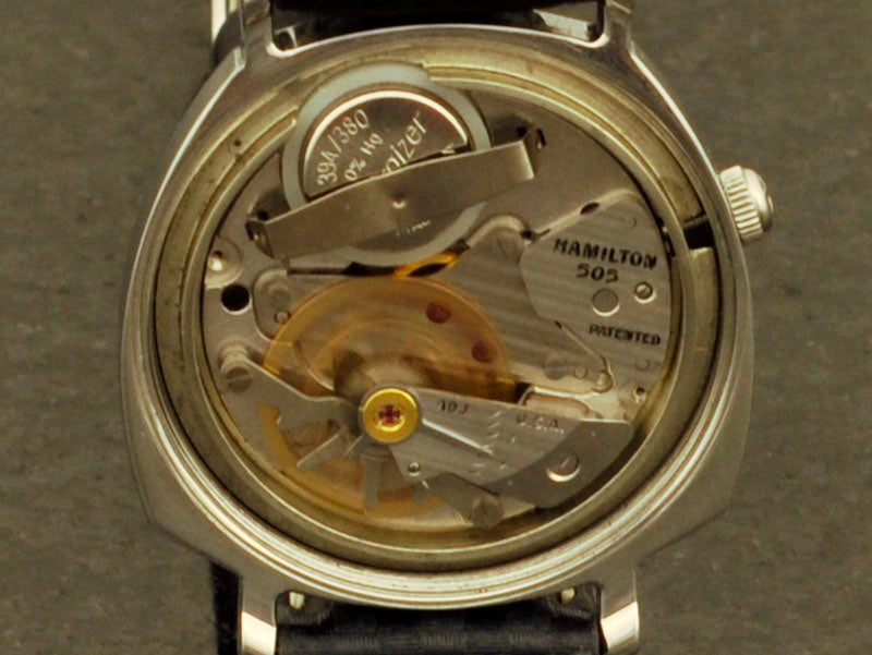 Hamilton Electric Sea-Lectric II GRAY DIAL watch 505 electric movement