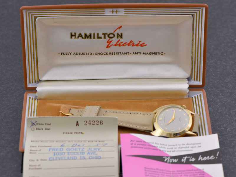 Hamilton Electric Spectra With Box & Strap