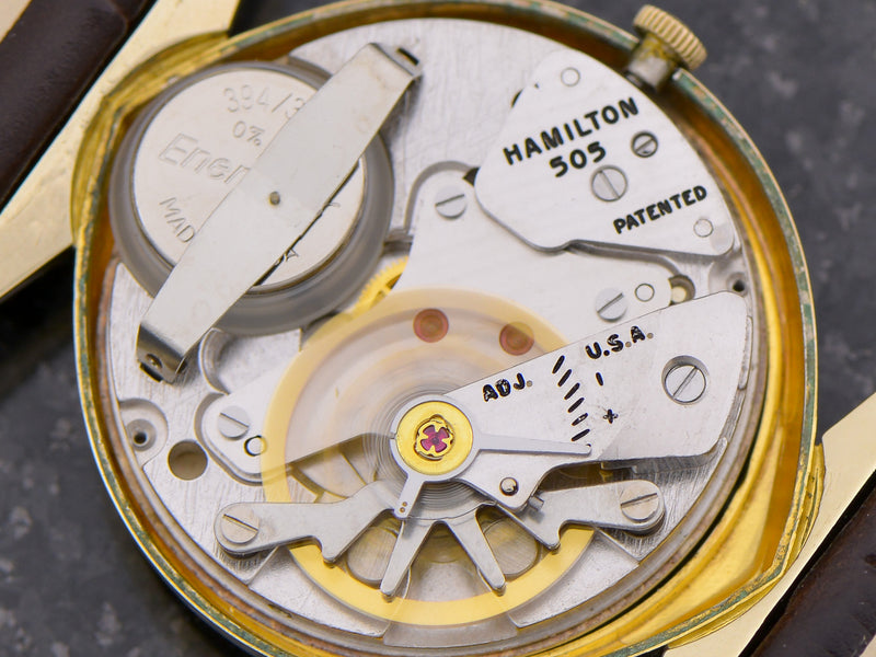 Hamilton Electric Titan III watch 505 electric movement