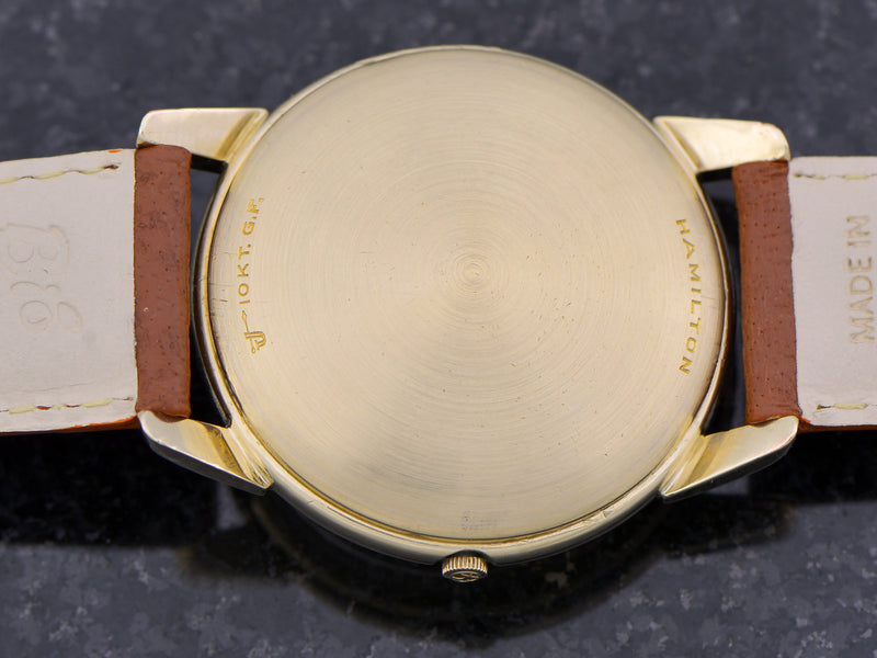 Hamilton Electric Uranus Vintage Watch Caseback