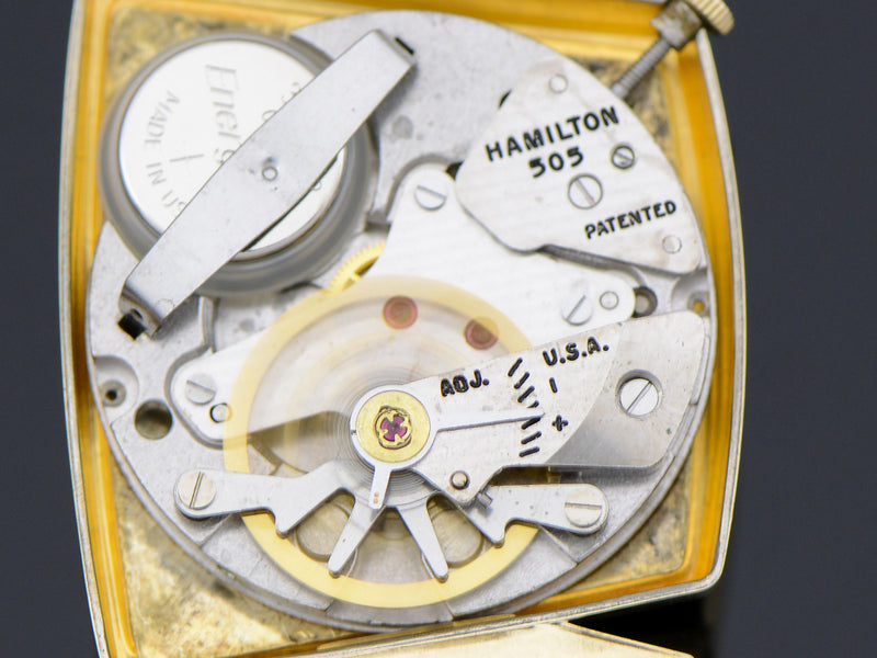 Hamilton Electric Vega Vintage Watch 505 Electric Movement