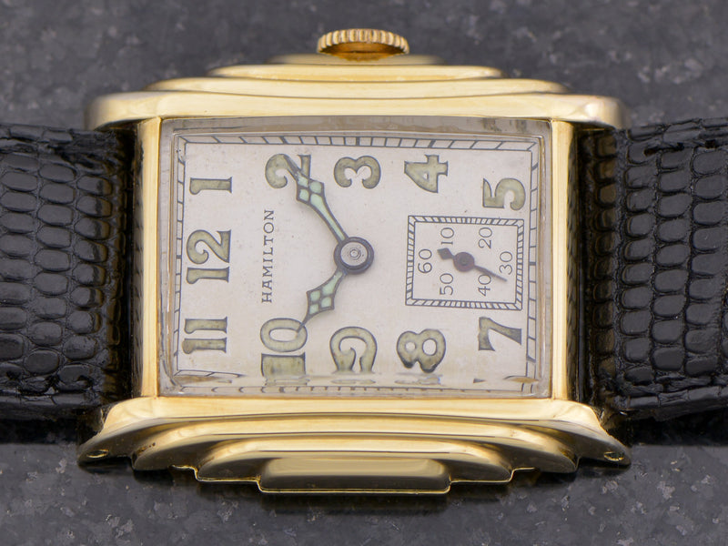 Hamilton Putnam Yellow Gold Filled