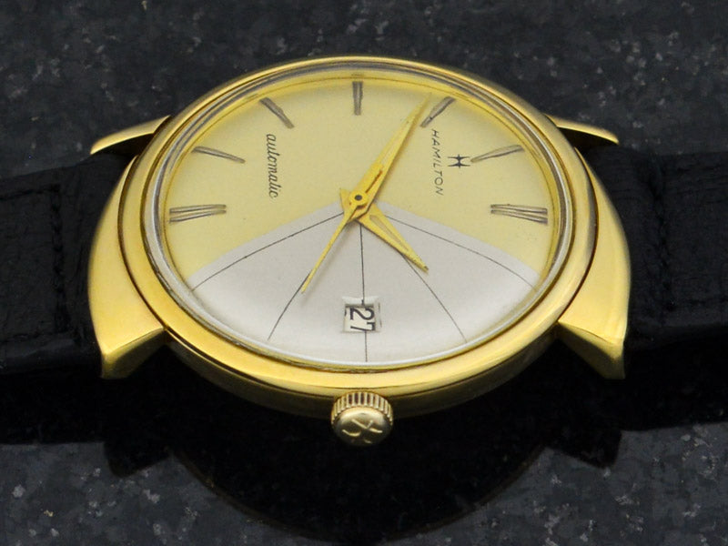 "Hamilton ""Sharkfin"" Automatic Watch With Date"