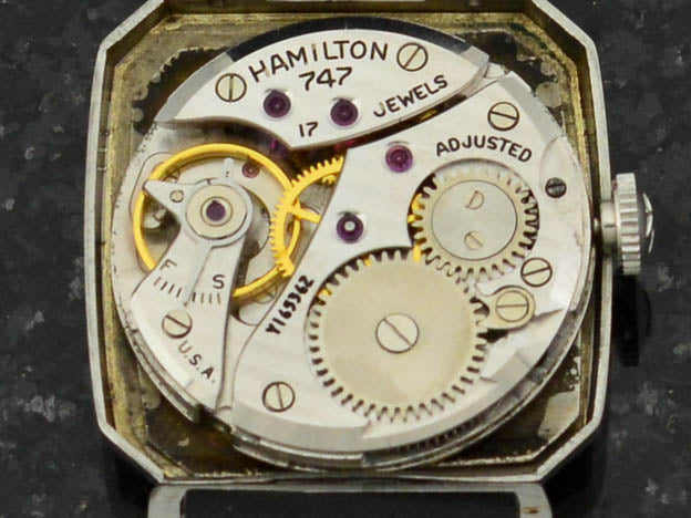 Hamilton Raymon Stainless Steel Watch