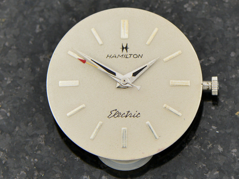 Hamilton White Gold Filled Electric Titan III Watch Dial