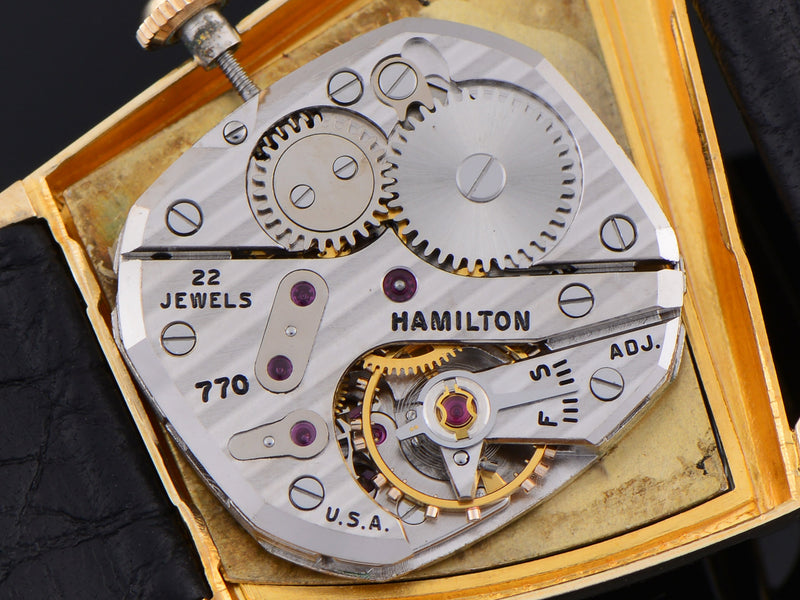Hamilton Flight I 14K Solid Gold 770 Watch Movement