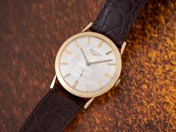 Longines 14K Yellow Gold Dress Watch