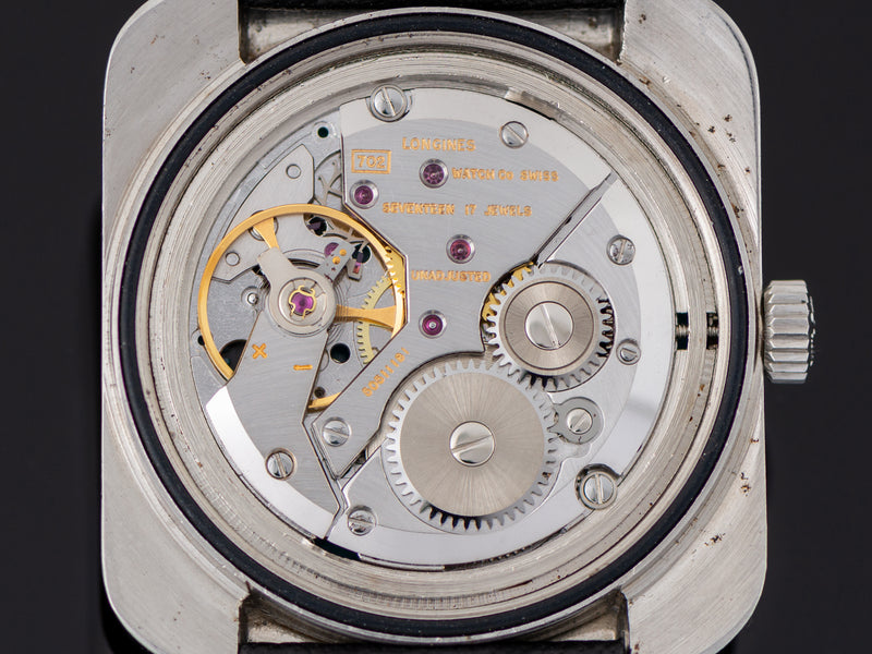 "Longines Comet ""Mystery Dial"" Watch Manual Wind 702 Movement"