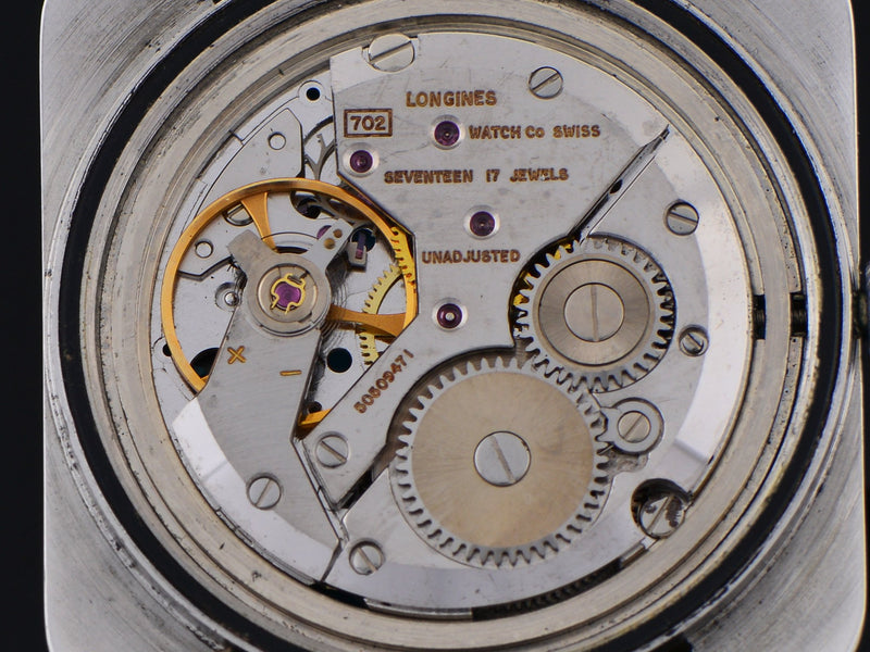 "Longines Comet ""Mystery Dial"" Watch Movement"