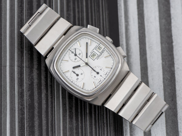 Longines Ultronic Tuning Fork ESA9210 Chronograph Watch