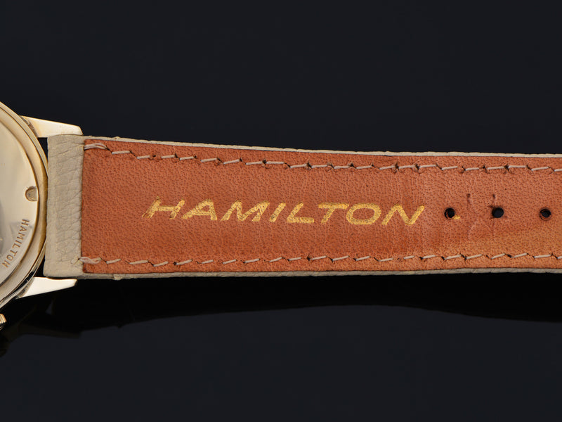 Hamilton Electric Spectra Employee Award Watch Signed Strap