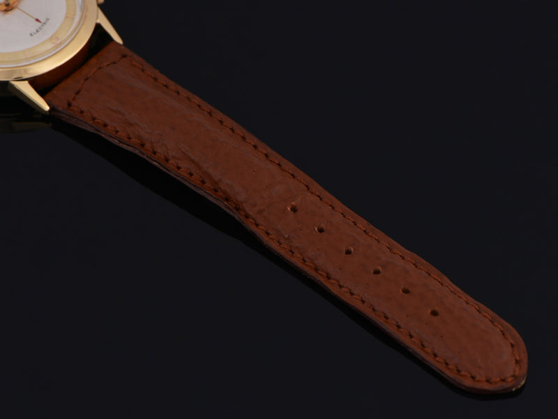 New DeBeer Genuine Leather Shark Grain Brown Watch Strap