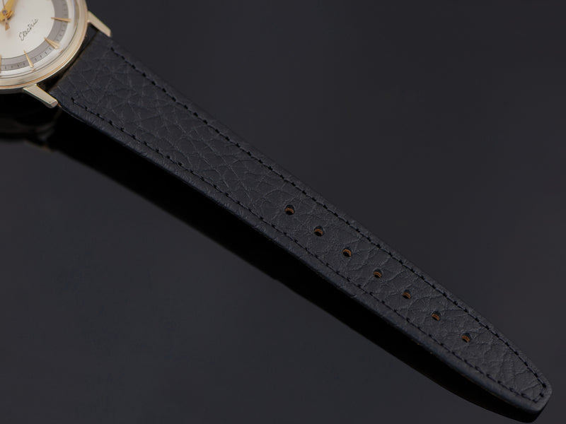 Brand New Genuine leather Black Watch Strap