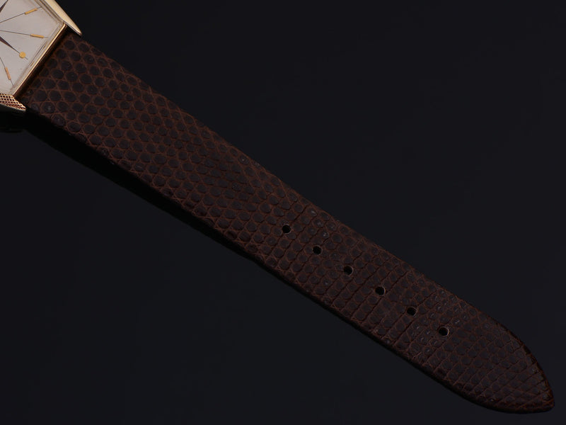 New Genuine Lizard Brown Watch Strap