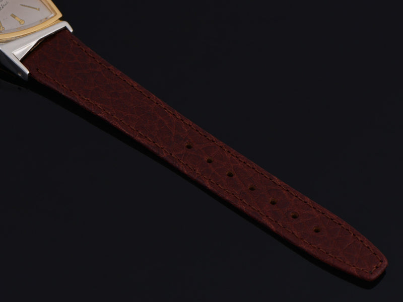 New Genuine Leather Brown Calf Grain Watch Strap