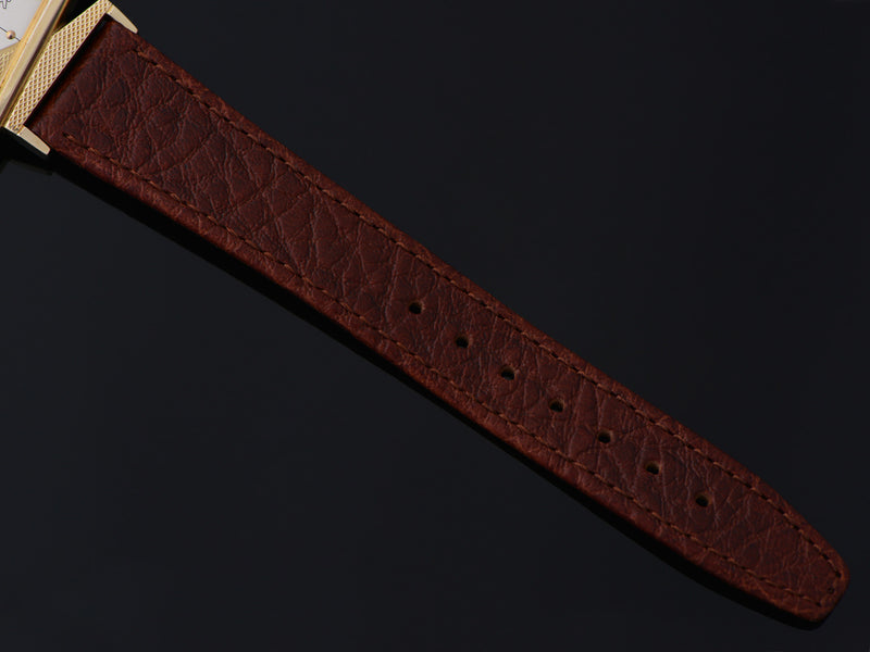 New Genuine Leather Brown Calf Watch Band