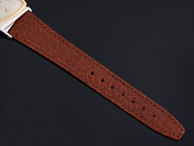New Genuine Leather Brown Watch Strap