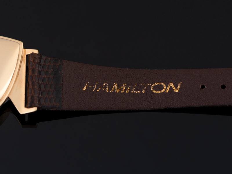 New Old Stock Genuine Lizard Brown Hamilton Band