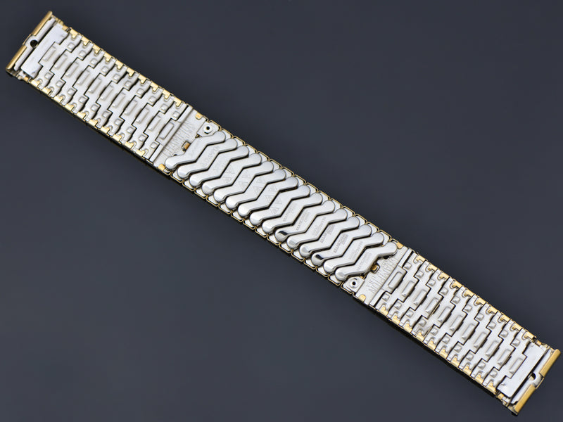 New Old Stock Hamilton Yellow Gold Filled Thor Original Watch Bracelet Back | Vintage
