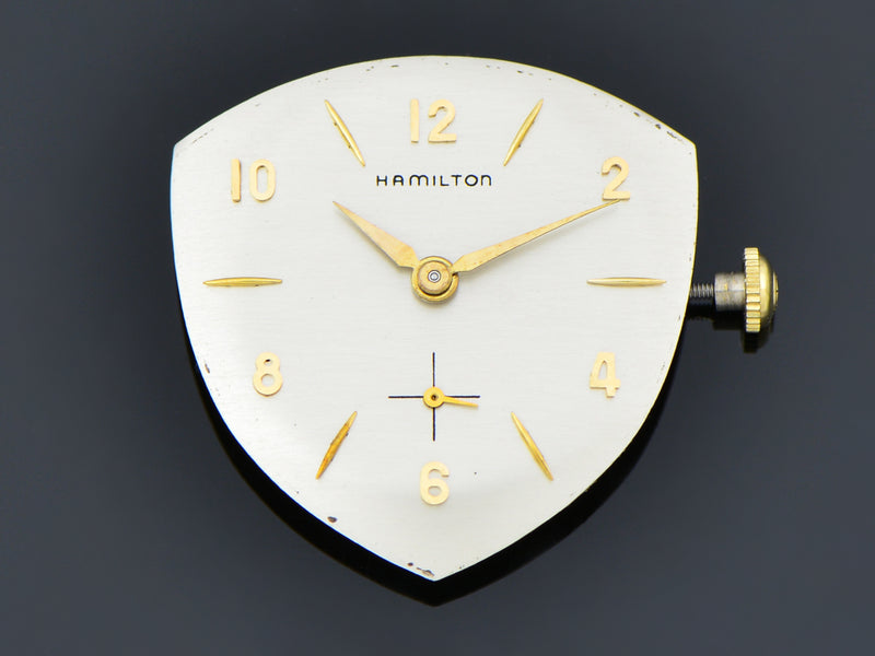 New Old Stock Hamilton Yellow Gold Filled Thor Watch Dial | Vintage