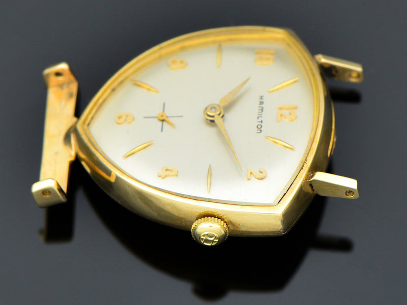 New Old Stock Hamilton Yellow Gold Filled Thor Watch | Vintage