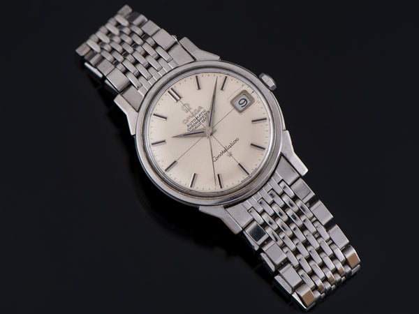 Omega Constellation Automatic Chronometer Steel Watch and Bracelet