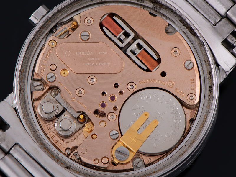 Omega Constellation Chronometer f300 Tuning Fork Watch Movement