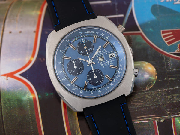Omega Speedsonic f300 Tuning Fork ESA9210 Chronograph Watch