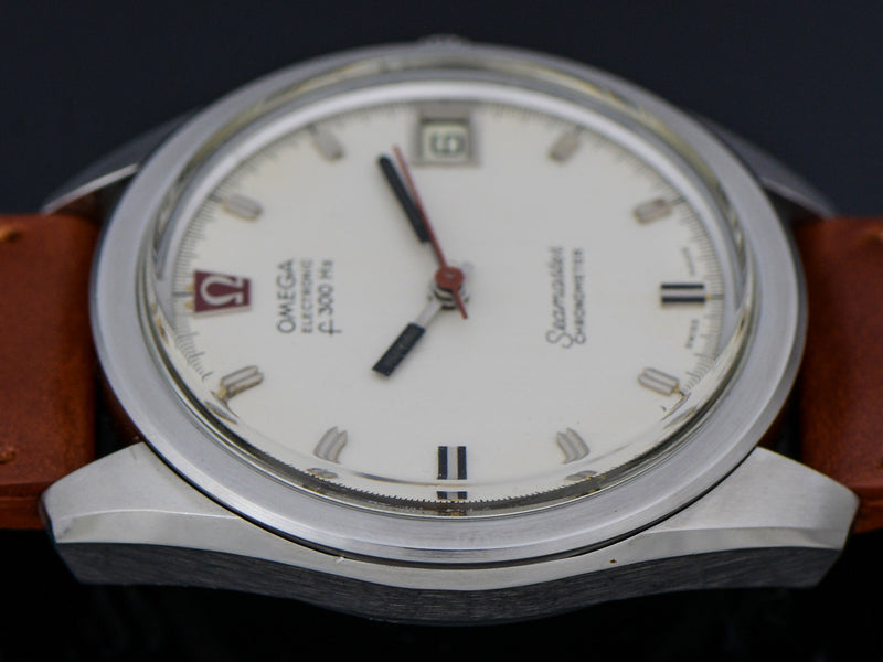 Omega Steel Chronometer f300 Tuning Fork Watch | Vintage
