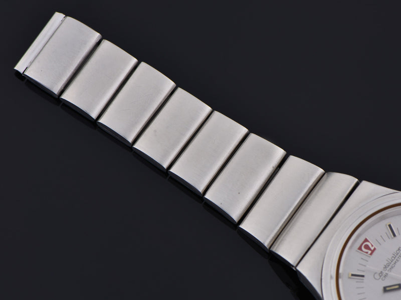 Omega Steel Constellation Chronometer f300 Tuning Fork Watch Bracelet