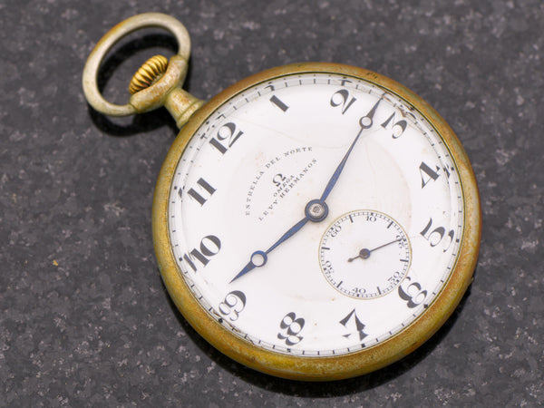 Omega By Levy Hermanos Pocket Watch