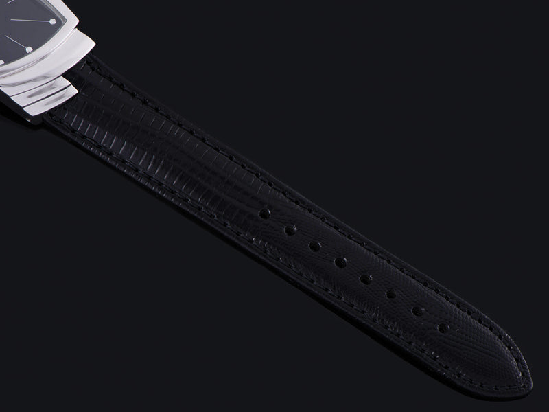 Original Hamilton Marked Black Leather Strap