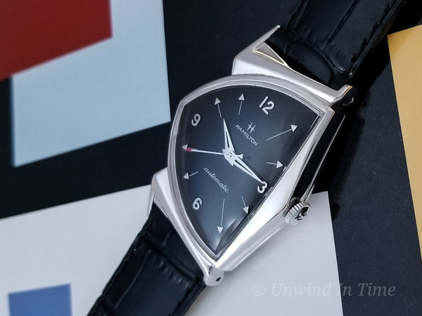 "Hamilton ""Pacermatic"" Custom Rhodium"