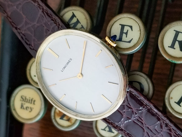 Longines 14K Yellow Gold Oval