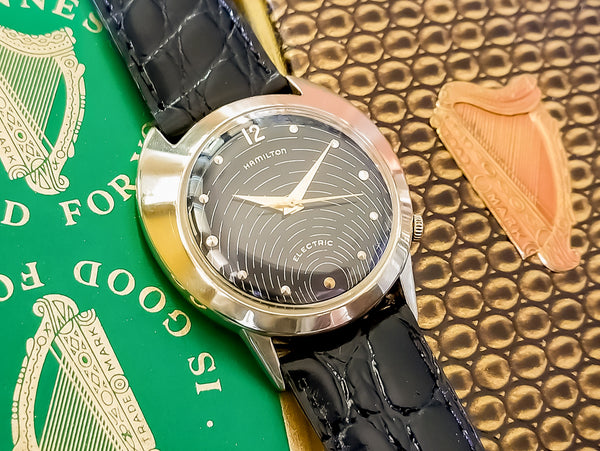 Hamilton Electric Spectra Original Black Dial & 505 Movement