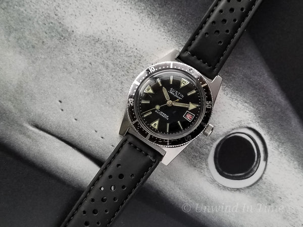 Austin Automatic Skin Diver With Unique Countdown Bezel