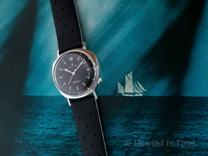 Hamilton Electric Custom Black Dial Sea-Lectric IIB