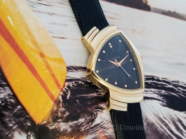 Hamilton Reissue 18K Ventura Watch