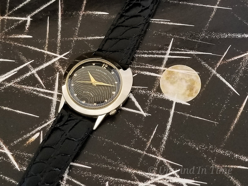 Hamilton Electric Spectra Black Dial Vintage Watch