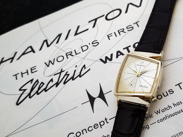 Hamilton Electric Vega with Original Finish Dial