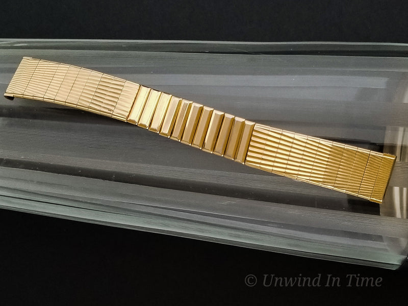Hamilton Electric Yellow Gold Filled Titan III Bracelet