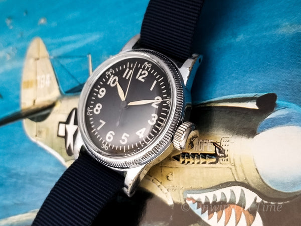 Elgin A-11 World War II Military Hacking Watch | Vintage