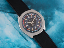 Super Nautic-Ski Super Compressor Dive Waltham By LIP Watch