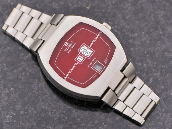 Tissot Newtimer Digital Read Automatic Watch