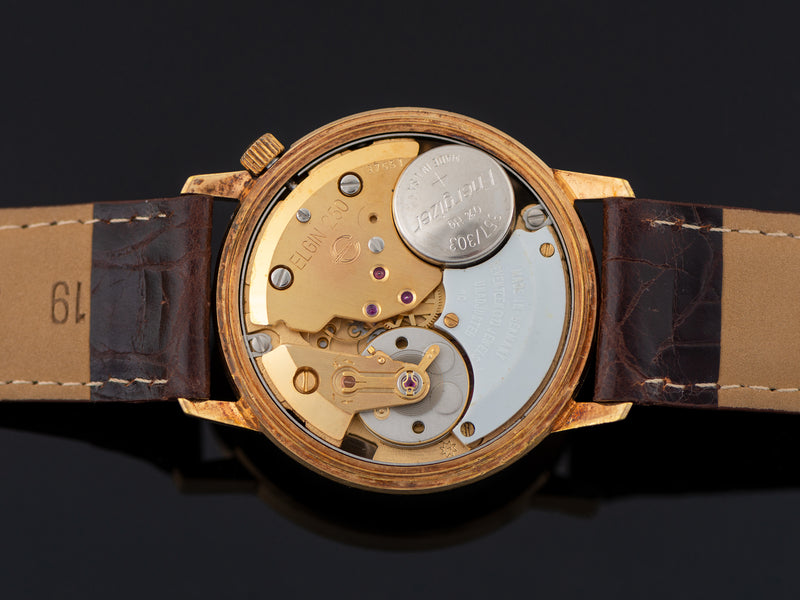 Transistorized, marked Elgin 250, Made In Germany, Seventeen (17) Jewels, Unadjusted Movement