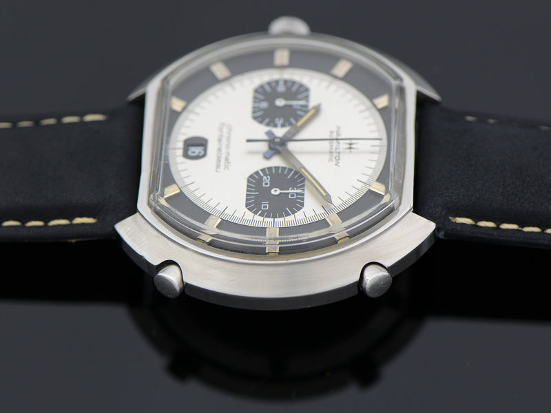 "Hamilton Fontainebleau Chrono-Matic ""C"" Caliber 11 Automatic Panda Watch"