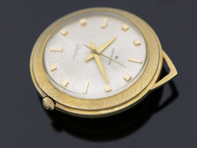 Hamilton Nautilus 403 Vintage Pocket Watch with 505 Hamilton Electric Movement