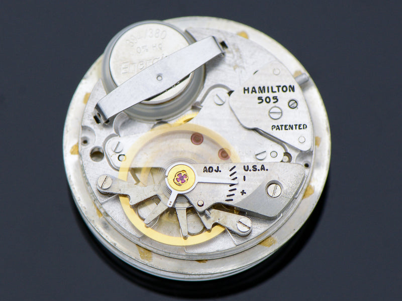 Hamilton Nautilus 403 Vintage Pocket Watch 505 Hamilton Electric Movemen