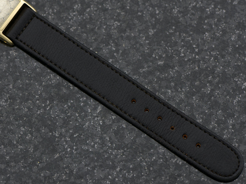 Brand New Old Stock Genuine Pigskin Black Watch Band