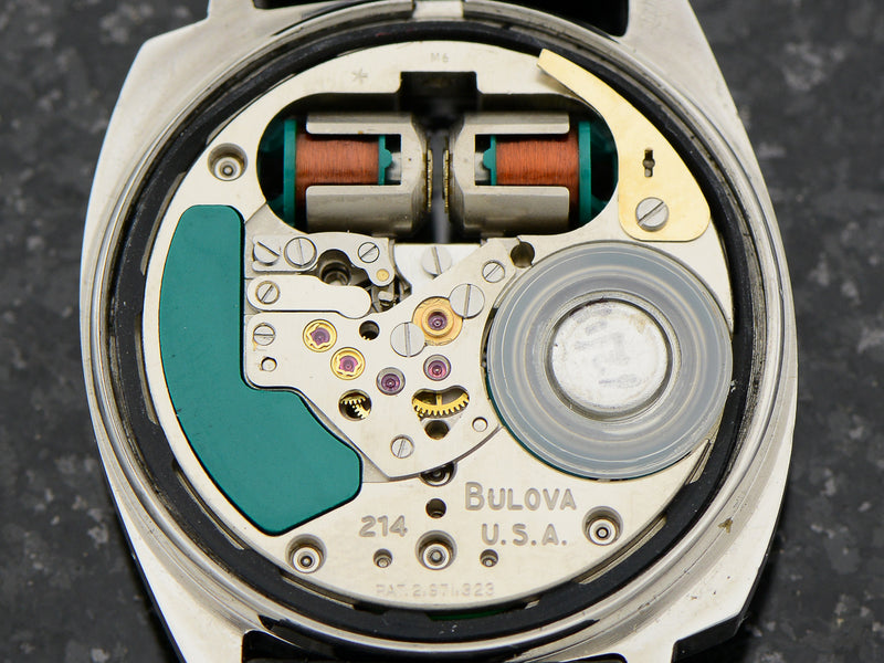 Bulova Accutron Two Tone Asymmetric Spaceview Vintage Watch Movement